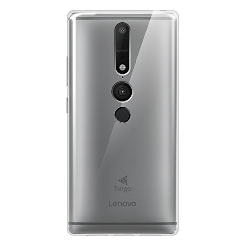 Preisvergleich Produktbild KuGi Lenovo Phab 2 Pro Hülle- MX Stil Hochwertige ultradünne weiche TPU Hülle für Lenovo Phab 2 Pro Smartphone.(Weiß)