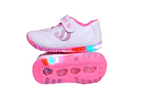 Fashion shoes Baby Boy's and Girl's Baby Pink Synthetic Leather Light Shoes -0-6 Months
