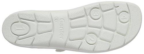 Ganter Damen Florence-f Pantoletten Weiß (weiß 0200)