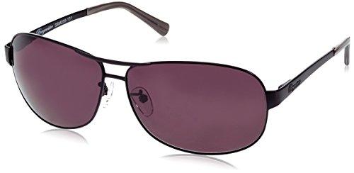 Klassische Marken Sonnenbrille für Herren von Burgmeister mit 100% UV Schutz   Sonnenbrille mit stabiler Metallfassung, hochwertigem Brillenetui, Brillenbeutel und 2 Jahren Garantie   SBM200-131