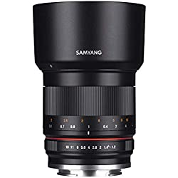 Samyang 50mm F1.2 AS UMC CS Objectif pour Sony E Noir