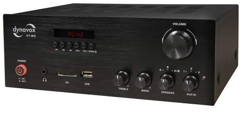 Dynavox Stereo Kompakt-Verstärker VT-80