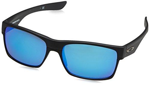 Oakley Twoface, Herrensonnenbrille, Schwarz (Negro), 60