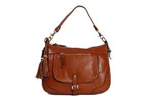 Smith & Canova - Bolso al hombro de cuero para mujer marrón marrón One Size