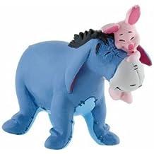 Bullyland - Winnie The Pooh Figure Eeyore with Piglet 7 cm (japan import)