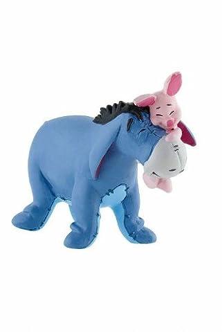 Winnie l´ourson figurine Bourriquet avec Porcinet 7 cm - Bullyland - Disney