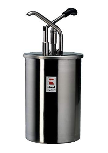 Ubert Dispenser, 10,0 Liter Inhalt für Mayonaise, Senf und Ketchup
