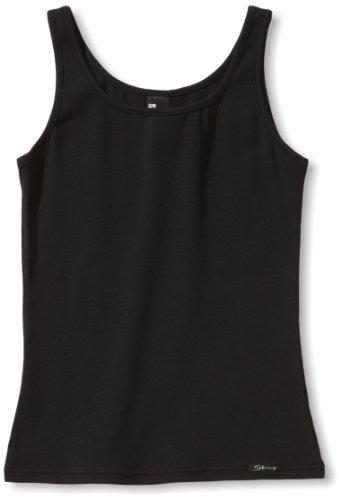 Skiny Mädchen Tank Top Cotton Experience,Schwarz (Black 7665),152