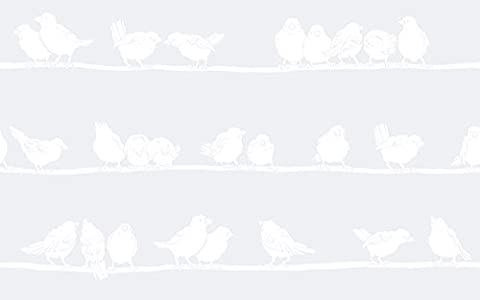 Haute qualité statique Window couvrant–Oiseaux sur une branche