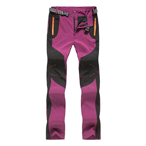 Haobing Unisexo Pantalones Acampada Marcha Pantalón