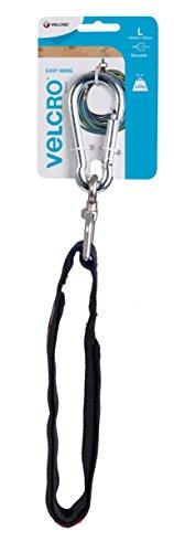 Preisvergleich Produktbild VELCRO Easyhanggurt, Kunststoff, Schwarz, 83 x 4 x 1.5 cm