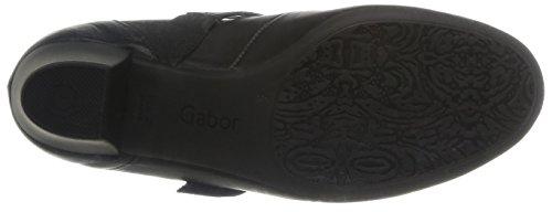 Gabor, Scarpe col tacco donna Nero (Noir (Foulard Calf Schwarz))