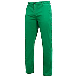 Asquith Fox Chino Summer Regular Cotton Classic Trousers, (Kelly Green), W34/L32 (Size: 34R)