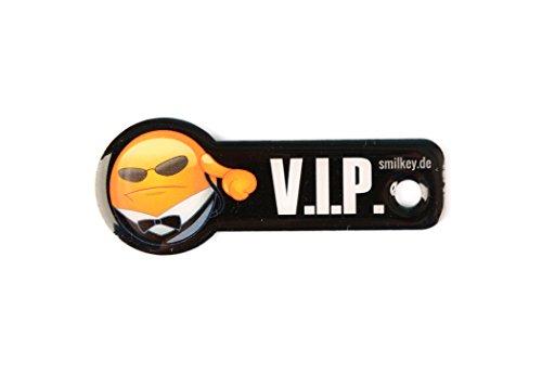Code24 Einkaufswagenlöser Smilkey V.I.P, Schlüsselanhänger mit Einkaufschip & Schlüsselfinder, inkl. Registriercode für Schlüsselfundservice, Einkaufswagenchip mit Profiltiefenmesser, Key-Finder - Pink-münzen-geldbeutel-schlüsselanhänger