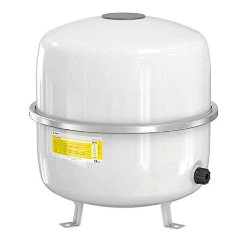 Flamco 16064 Flexcon Solar Ausdehnungsgefäß, 35 L, 2,5 bar für Solaranlagen, weiß - Gas-wasser-heizung-teile