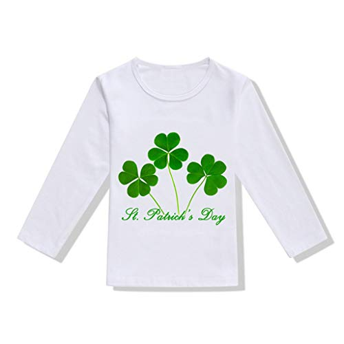 Felice St Patrick/'s Day Ragazzi Ragazze Bambini T-shirt