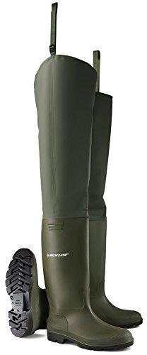 Bota caña alta thigh neptuno dunlop verde t44