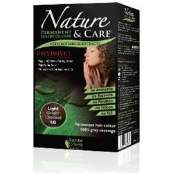 Santé verte - Nature & soin Châtain Clair Doré 5G sans ammoniaque, sans paraben, sans silicone et sans résorcine