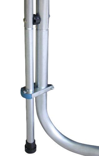 Imagen 3 de SixBros. Sport – XXL 4,00m diám. Professional Trampolín de jardín – T400 13FT | escalera | red de seguridad | lluvia cobertura | Modelo 2013