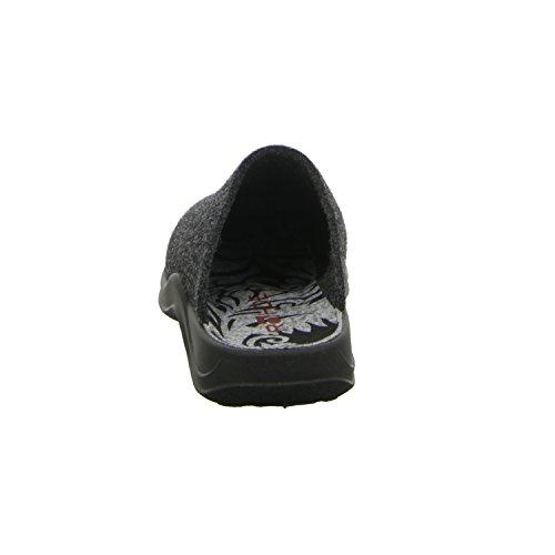 Rohde 7709, Pantofole donna Grigio (grigio (grigio))