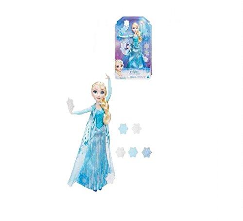 Disney MUÑECA Frozen Elsa Copos MAGICOS C/ Capa DE Quita Y PON
