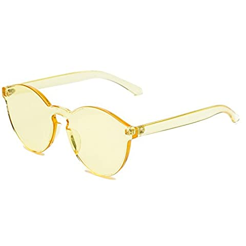 Dollger New Designer Integrated Transparent Keyhole Cat Eye Sunglasses with