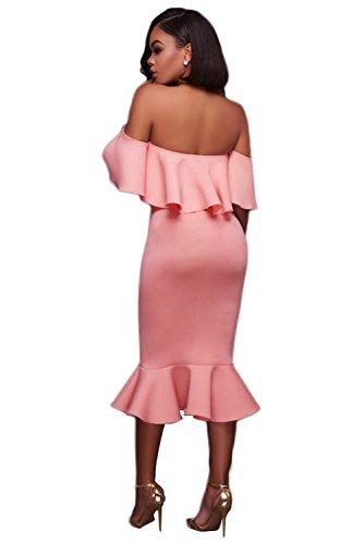 shelovesclothing -  Vestito  - Donna Pink