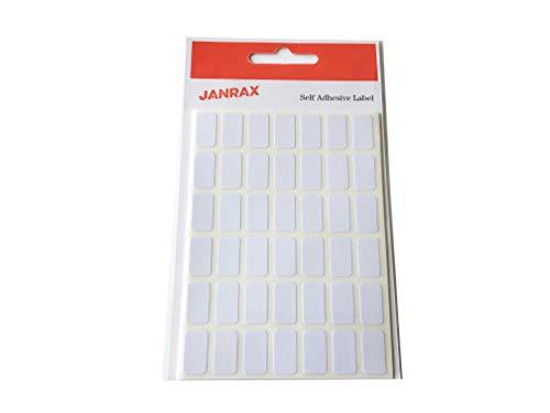 Paquete 294 etiquetas rectangulares blancas 9 x 16