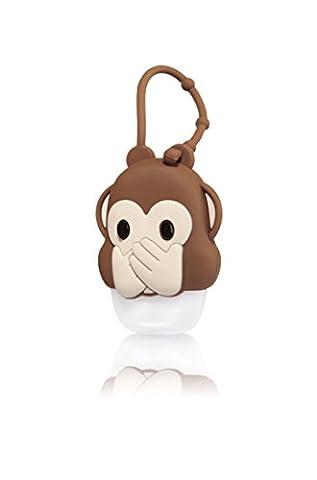 Bath & Body Works PocketBac Holder Speak No Evil Monkey Emoji