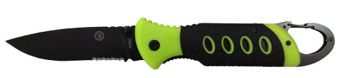 Ultimate Survival Technologies Folder 3.5 GLO! Knife w/Glow-in-the-Dark Handle