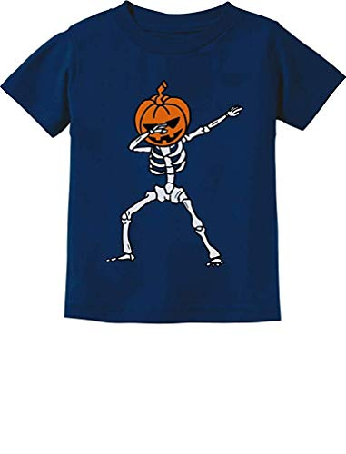 Halloween T-shirts Long Sleeve Size 5t Kids' Clothing, Shoes & Accs Tops, Shirts & T-shirts Pumpkin And Skeleton Making Things Convenient For The People