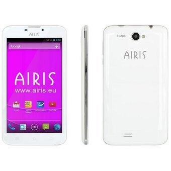 Airis TM55SW 5 5  SIM doble 1GB 8GB 2500mAh Blanco - Smartphone  14 cm  5 5    8 GB  8 MP  Android  5 1  Blanco