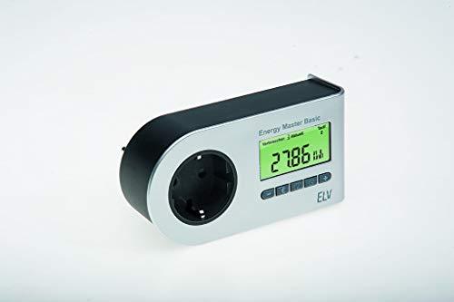 MagiDeal Wechselstromz/ähler Stromz/ähler AC Voltmeter Amperemeter Wechselstrom Energie Meter Din Energy Meter Wei/ß 200-450V