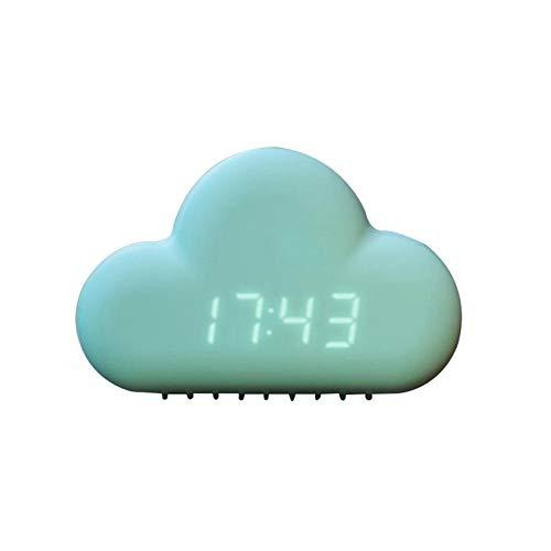 HEY Nube Creativa Reloj Despertador Reloj Pantalla