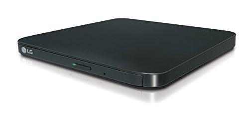 LG GP90EB70.AUAE10B DVD Super Multi DL Schwarz Optisches Laufwerk - Optische Laufwerke (Schwarz, Vorderseite, CE, DVD Super Multi DL, USB 2.0, CD-R,CD-ROM,CD-RW,DVD+R,DVD+RW,DVD-R,DVD-ROM,DVD-RW)