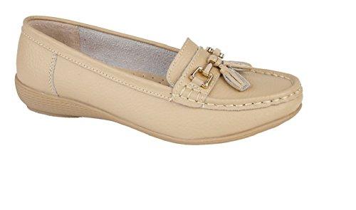 Foster Footwear , Herren Mokkasins Beige