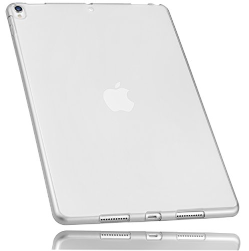 mumbi Schutzhülle für iPad Pro (10,5 Zoll) Hülle transparent weiss - Pro-style-folie
