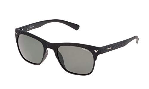 Police S1950M53U28P Occhiali da Sole, (Nero), 53.0 Unisex-Adulto