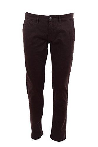 Pantalone Uomo Siviglia 40 Marrone B1f2 S018 Autunno Inverno 2015/16