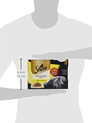 Sheba Cat Food Pouches Fish Selection in Jelly