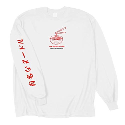 Agora Ramen Japanese Long Sleeve T Shirt (XL)