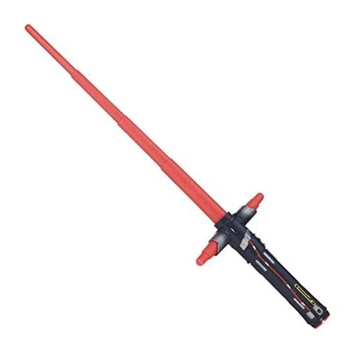 Star-Wars-The-Force-weckt-Kylo-REN-ausziehbar-Lichtschwert