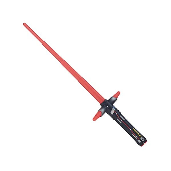 Star Wars The Force Awakens Kylo Ren Extendable Lightsaber Confezione originale 3 spesavip