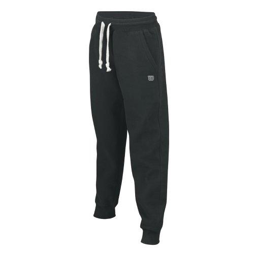 Wilson-Pantaloni da uomo, UOMO, nero, S