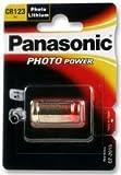 Dynamic Power Panasonic – CR123 A – Lithium-Batterien, Akku, Photo Lithium CR123 A 3V – 1 Stück