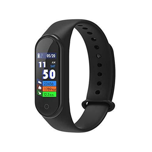 G-wukeer Fitness Tracker, Gesundheits-Trainingsuhr mit M4-Farbdisplay und Herzfrequenz- und Schlafmonitor, Smart Band-Kalorienzähler, Schrittzähler, Schrittzähler für Männer und Frauen