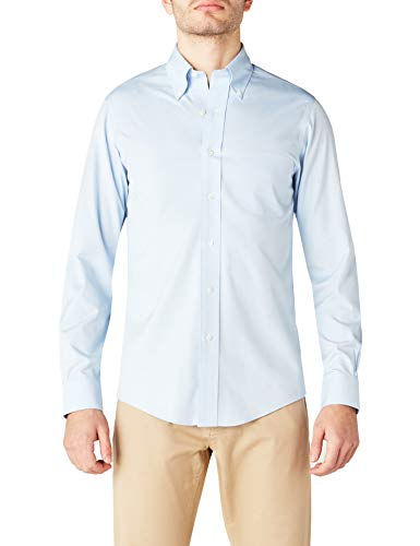 Brooks Brothers Camicia Milano Manica Lunga Con Taschino Chemise Business Homme