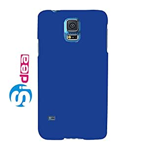 Sidea Rubberised Matte Hard Case Back Cover For Samsung Galaxy S5-Blue