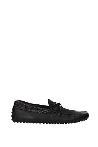 loafers-tods-herren-leder-schwarz-xxm0gw05473e6yb999-schwarz-44eu