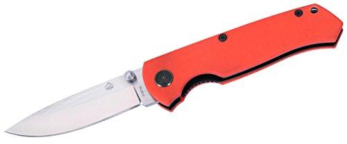 PUMA TEC Orangenen G10-Griffschalen Einhandmesser, Mehrfarbig, One size